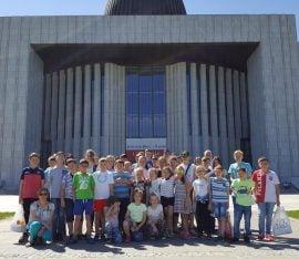 Wycieczka dzieci do Warszawy
